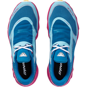 Dynafit Feline UP Zapatillas Mujer, mykonos blue/sangria